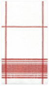 Belgian Red Plaid Luncheon Napkin