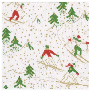 Winter Sports Cocktail Napkins