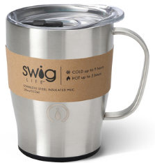 Swig 18 oz Stainless Steel Insulated Mug