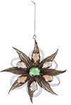 Metal Feather Ornament