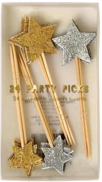Gold and Silver Party Picks