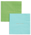 Kate Spade Laugh out Loud and Dance til Dawn Cocktail Napkins