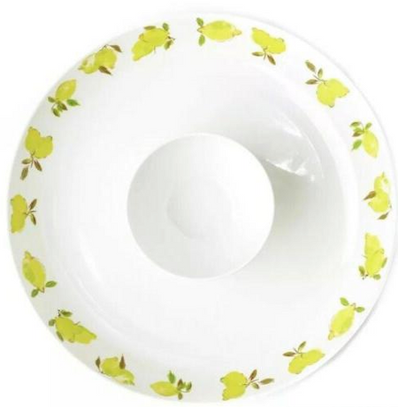 kate spade new york Lemon Melamine Chip and Dip