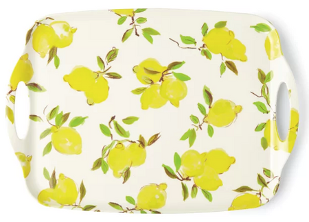 Kate Spade Lemon Melamine Serving Tray