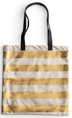 Rosanna Striped Jet Setter Tote Bag