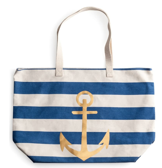 Rosanna Anchor Stripe Tote