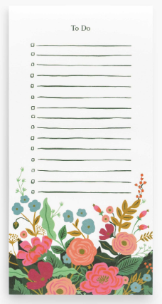 Rifle Paper Co. To Do List Notepad