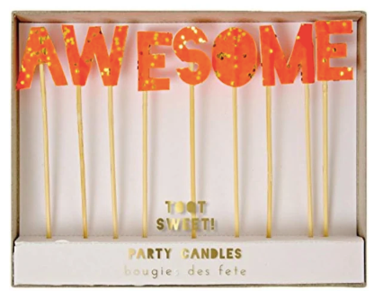 Awesome Party Candles