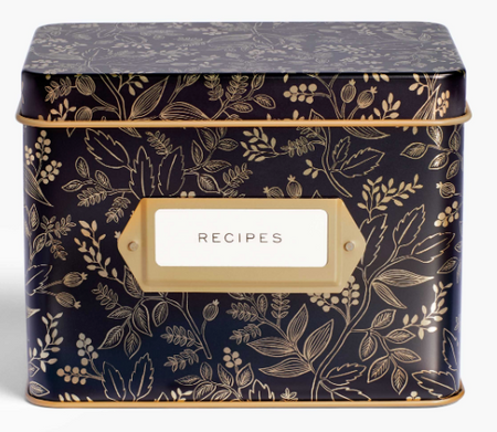 Rifle Paper Co. Recipe Tin - Queen Anne
