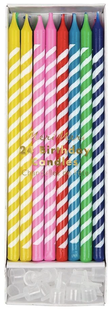 Bright Party Candles