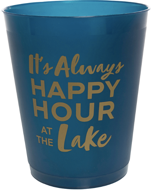 Happy Hour at the Lake - Party Cups