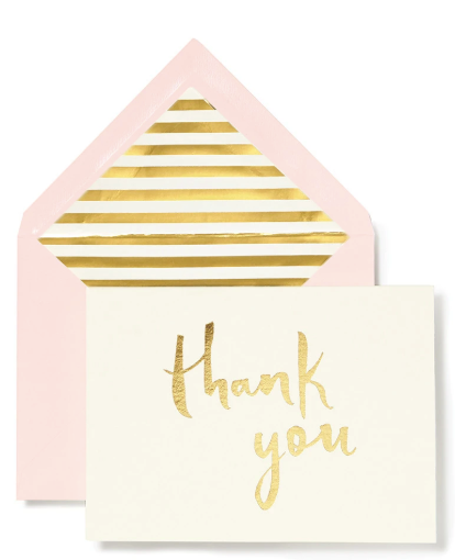 Kate Spade New York Thank You cards - Paintbrush