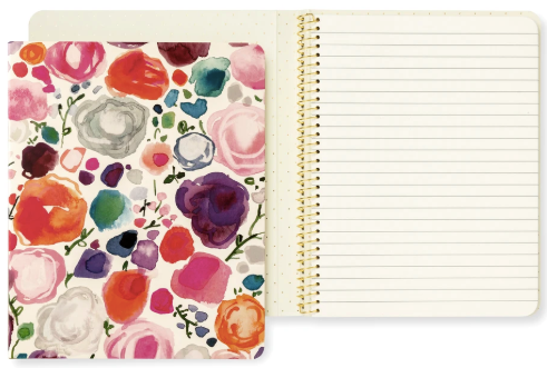 Kate Spade New York concealed spiral notebook - Floral