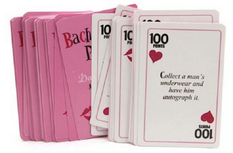 Bachelorette Party Dare Card Game