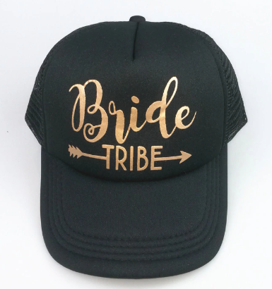 Bride Tribe - Black - Snap Back, Trucker Hat