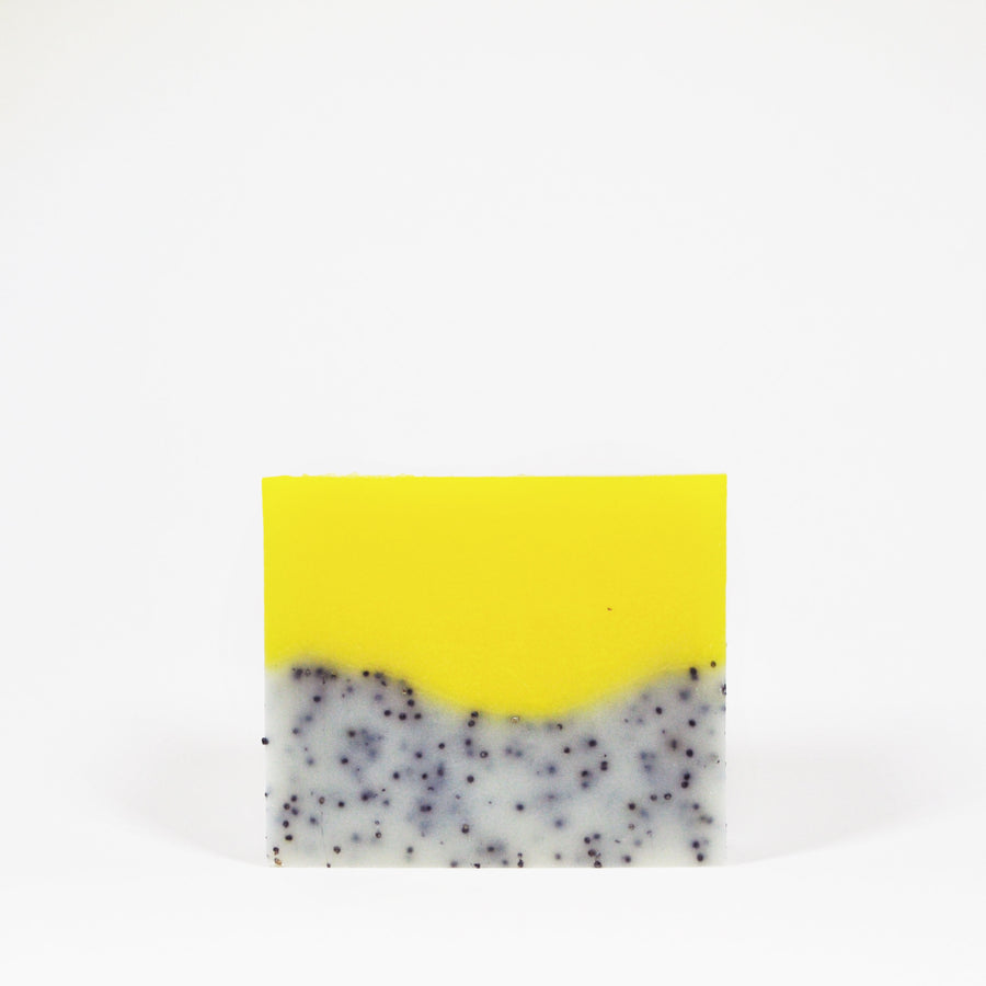 Lemon Poppy Seed Soap Bar