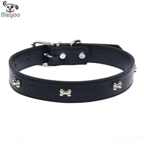 Bone Patterned Dog Collar