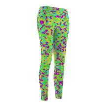 Load image into Gallery viewer, 80's Camouflage Pattern Women's Leggings