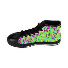 Load image into Gallery viewer, 80's Camouflage Pattern Men's High-top Sneakers