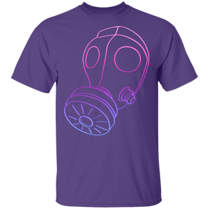 Neon Gas Mask G500 T-Shirt