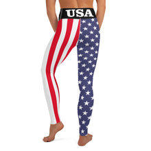 Load image into Gallery viewer, USA Yoga Leggings