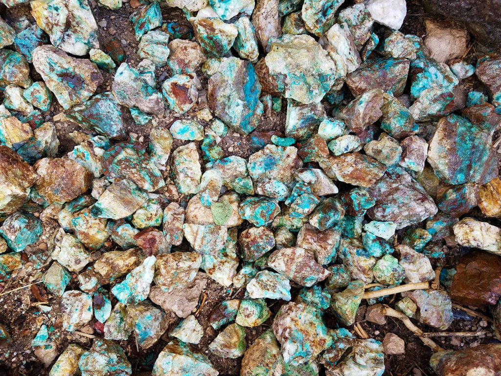 Chrysocolla Summer of Rockhounding