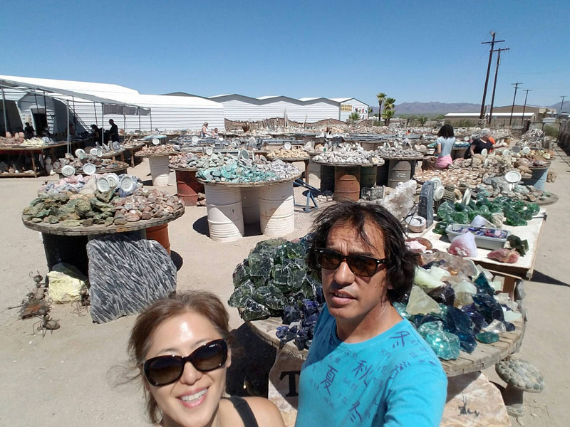 Rock and Mineral shopping to Arizona