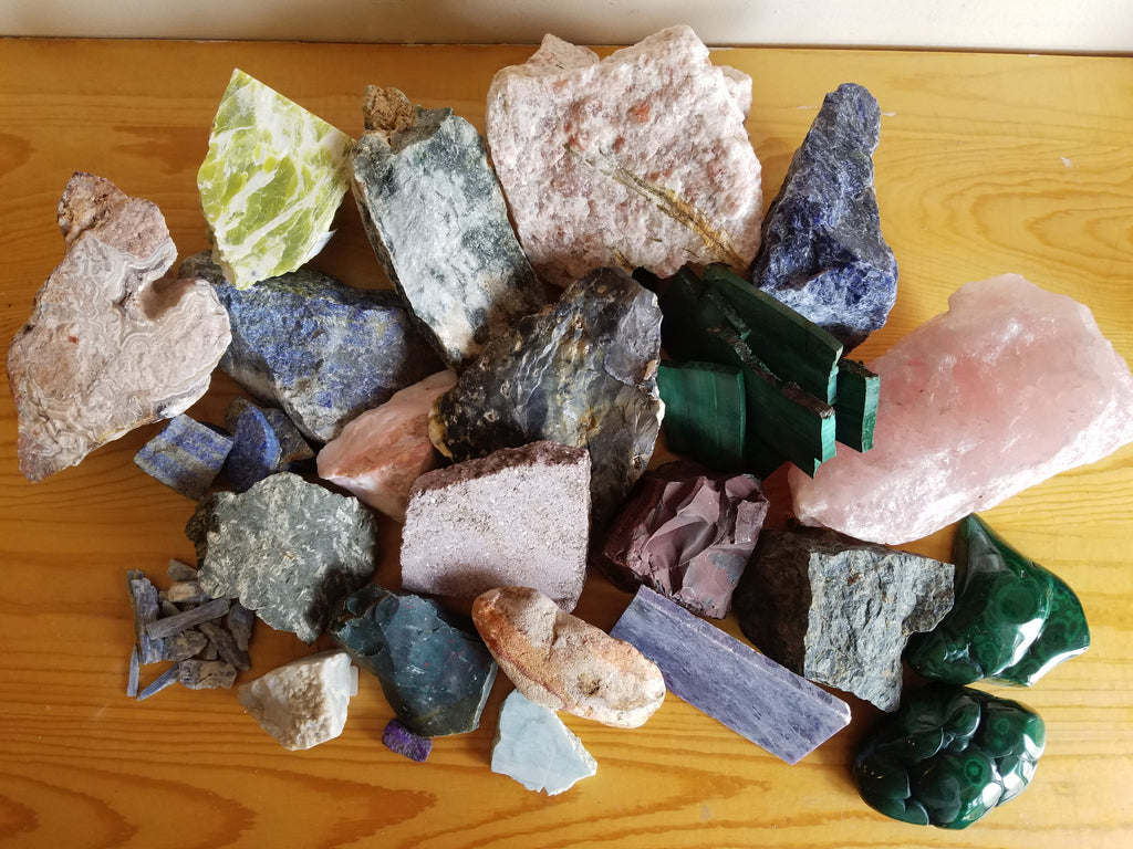Rock Shopping at Gem & Mineral Show