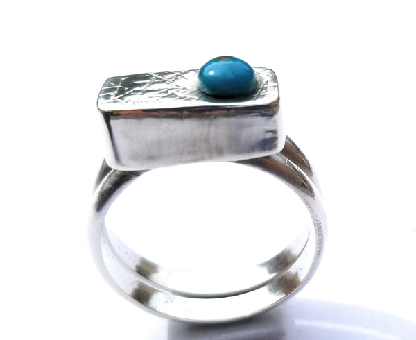 Turquoise Accent Ring