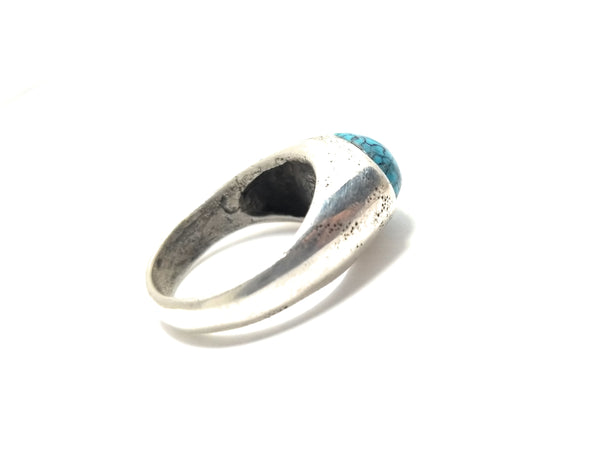 Turquoise Ring Sterling Silver Statement Ring