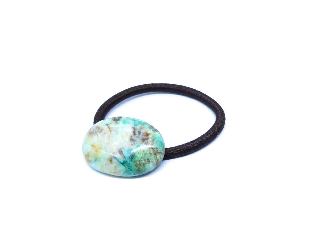 Chrysocolla Accesnt Hair Tie band, Scarf Band