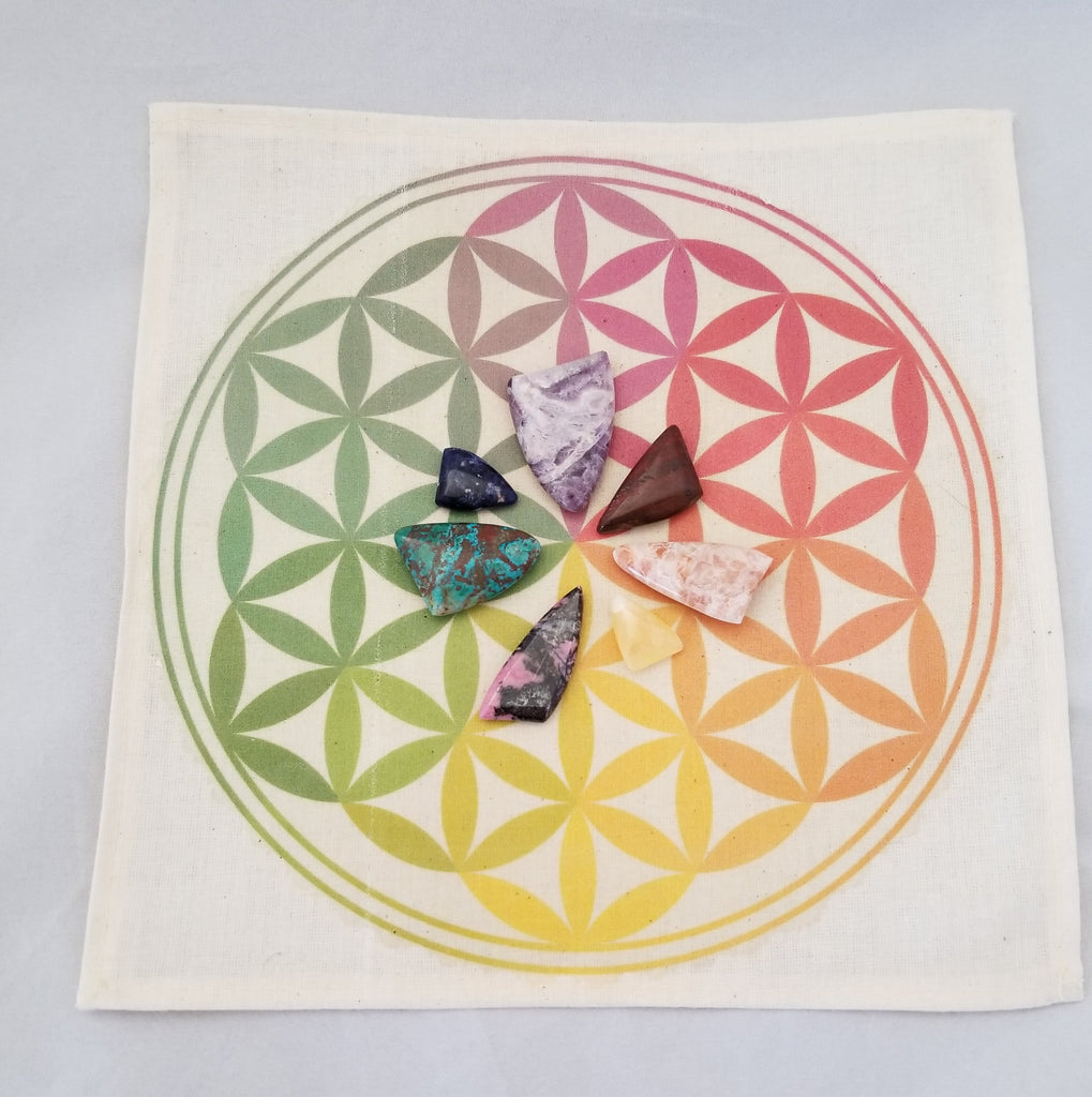 The Flower of Life Crystal Grid Kit Crystal Reiki