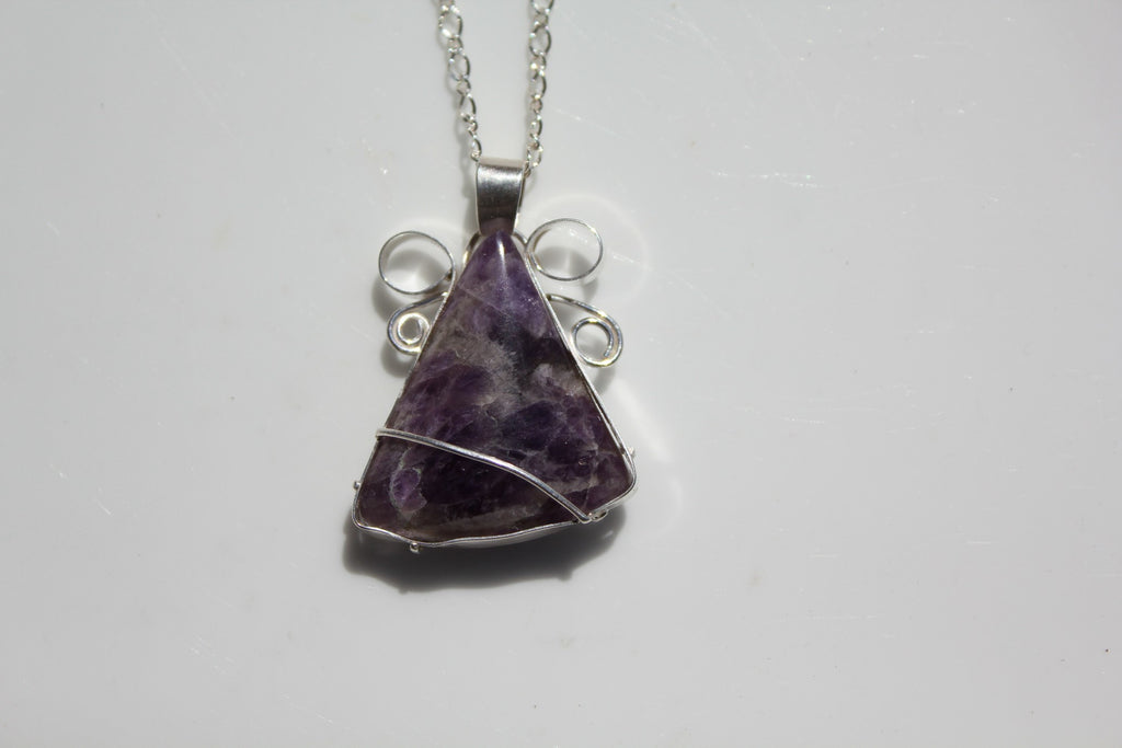 Amethyst silver pendant the naodesigns home amethyst silver pendant amethyst aloadofball Image collections