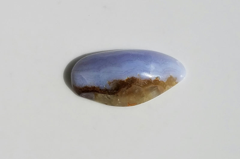 Blue lace agate -African Blue Lace Agate-