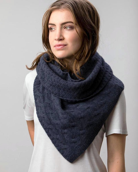 TWIST SNOOD SCARF
