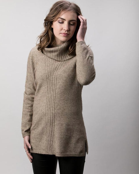 ROLL NECK POSSUM MERINO JUMPER
