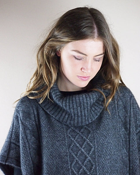 TUNIC CABLE KNIT