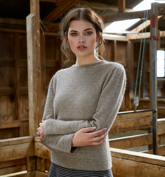 FLOAT STITCH JUMPER