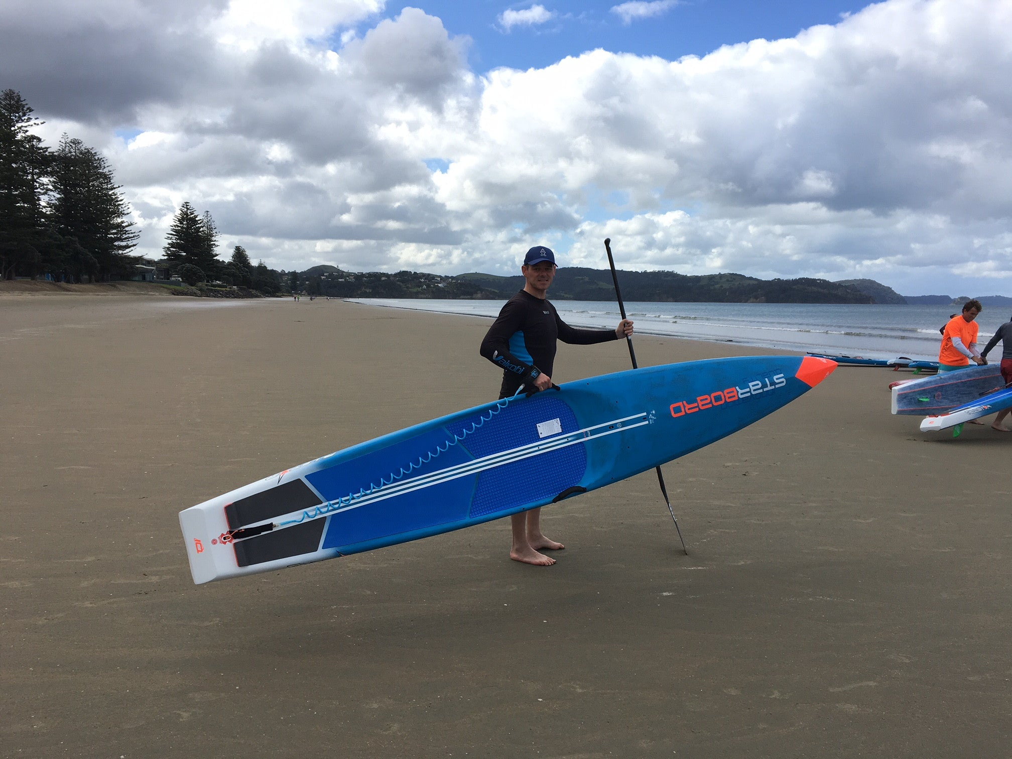 Testing NEW 2017 Starboard Race Boards