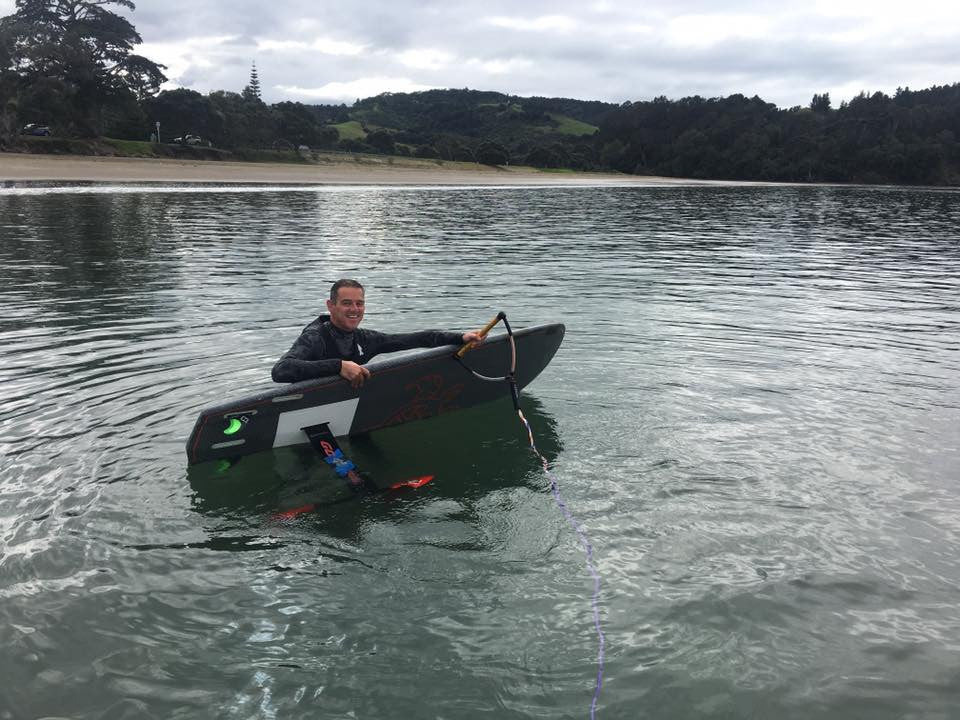 Learning to SUP Foil