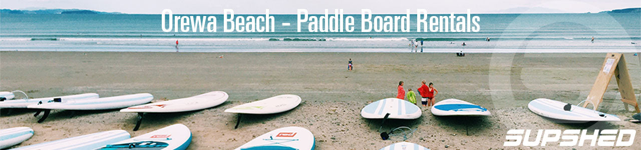 Supshed Orewa Beach Paddle Board Rentals