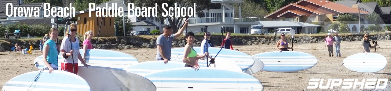 Supshed Orewa Beach Paddle board School