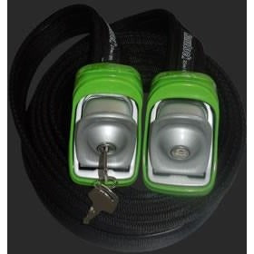 Kanulock 2.5m Lockable Tie Downs