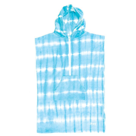 O & E Ladies Tie Dye Zip Poncho