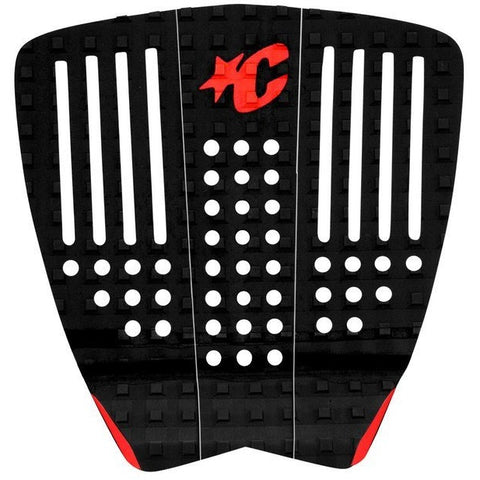 Creatures The Strike Tail Pad - Red Black Front