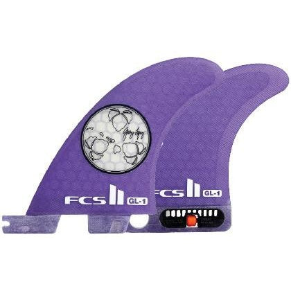 FCS II Gerry Lopez Tri-Quad Retail Fin Set