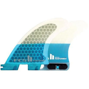 FCS II SUP Performer  PC Tri Retail Fins - SUPSHED NZ