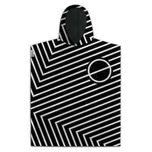 Leus Poncho Towel - Joint Black - SUPSHED NZ