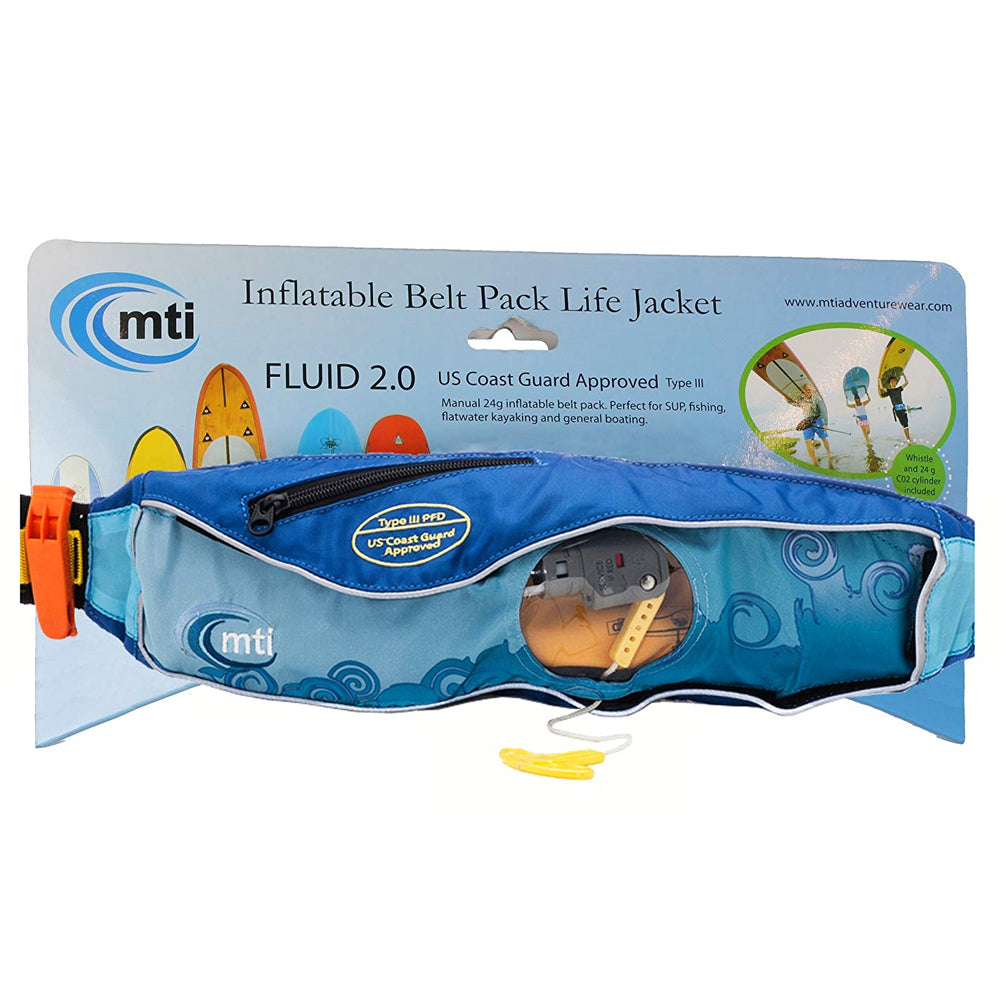 MTI Fluid 2.0 Inflatable Belt Pack - Life Jacket SUPSHED NZ 7