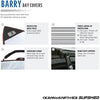 O & E Barry Basic SUP Cover - SUPSHED NZ